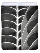 Modern Architecture Chicago Duvet Cover