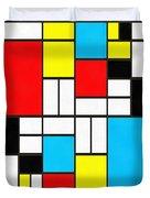 Modern Art Square Duvet Cover