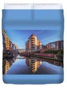 Modern Canal Living Duvet Cover