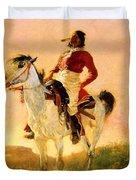 Modern Comanche 1890 Duvet Cover