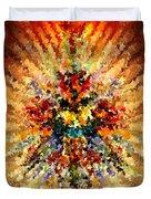 Modern Composition 10 Duvet Cover