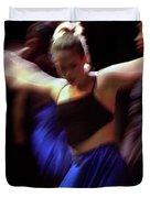 Modern Dance Motion Duvet Cover