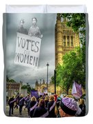 Modern Day Suffrage Duvet Cover