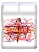 Modern Drawing Eighty-five Duvet Cover