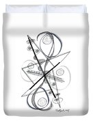 Modern Drawing Forty-eight Duvet Cover