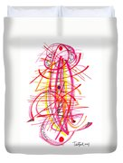 Modern Drawing Forty-five Duvet Cover