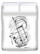 Modern Drawing Thirty-eight Duvet Cover