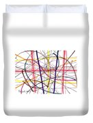 Modern Drawing Twelve Duvet Cover