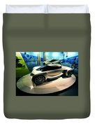 Modern Fuel Cell Car Duvet Cover