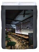 Modern Industrial Contemporary Interior Design Restaurant Duvet Cover