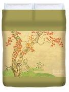 Modern Reflection Of Sakai Hoitsu Duvet Cover