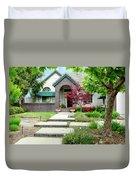 Modern Suburban House Hayward California 33 Duvet Cover