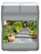 Modern Suburban House With Succulent Garden Hayward California 34 Duvet Cover