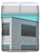 Modern Walls And Windows Furth Germany Duvet Cover
