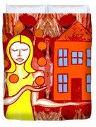 Modern Woman Duvet Cover by Patrick J Murphy