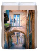 Modica Street Duvet Cover