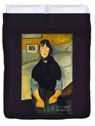 Modigliani: Woman, 1918 Duvet Cover