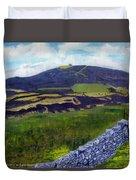 Moel Famau Hill Painting Duvet Cover