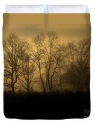 Morning Fog, #2, Smoky Mountains, Tennessee Duvet Cover