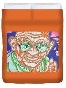 Mohandas Karamchand Gandhi  Duvet Cover