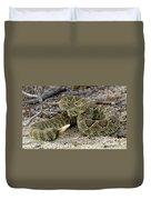 Mohave Green Rattlesnake Striking Position 3 Duvet Cover