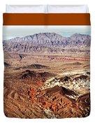 Mojave Desert Magic Duvet Cover