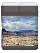 Mojave Desert Route 66 Duvet Cover