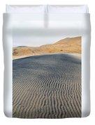Mojave Kelso Dunes Portrait Duvet Cover
