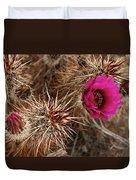 Mojave Magenta Duvet Cover