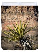 Mojave Yucca Duvet Cover