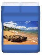 Mokapu Beach Maui Duvet Cover