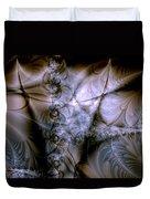 Molecular Cacao Duvet Cover