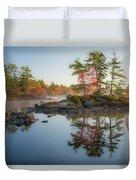 Molega Lake, Nova Scotia Duvet Cover