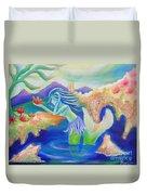 Molly Mermaid Duvet Cover