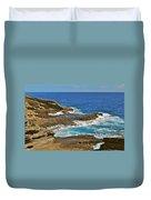 Molokai Lookout 0649 Duvet Cover