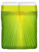 Molokai Palm Fan Duvet Cover