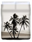 Molokai Palms Duvet Cover