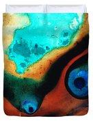 Molten Earth Duvet Cover