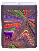 Molten Rainbow Redux Duvet Cover