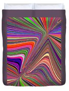 Molten Rainbow Duvet Cover