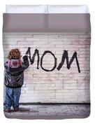 Mom Duvet Cover