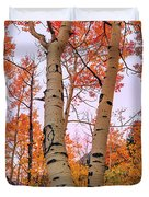 Moments Of Fall Duvet Cover