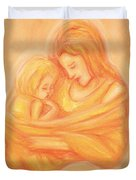 Mommy And Me Duvet Cover