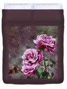 Moms Roses Duvet Cover