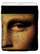 Mona Lisa Eyes 3 Duvet Cover