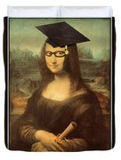 Mona Lisa  Graduation Day Duvet Cover