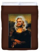 Mona Marilyn Duvet Cover