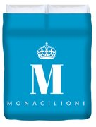 Monacilioni Corona Duvet Cover