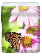 Monarch Butterfly Art Duvet Cover