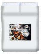 Monarch Butterfly Duvet Cover